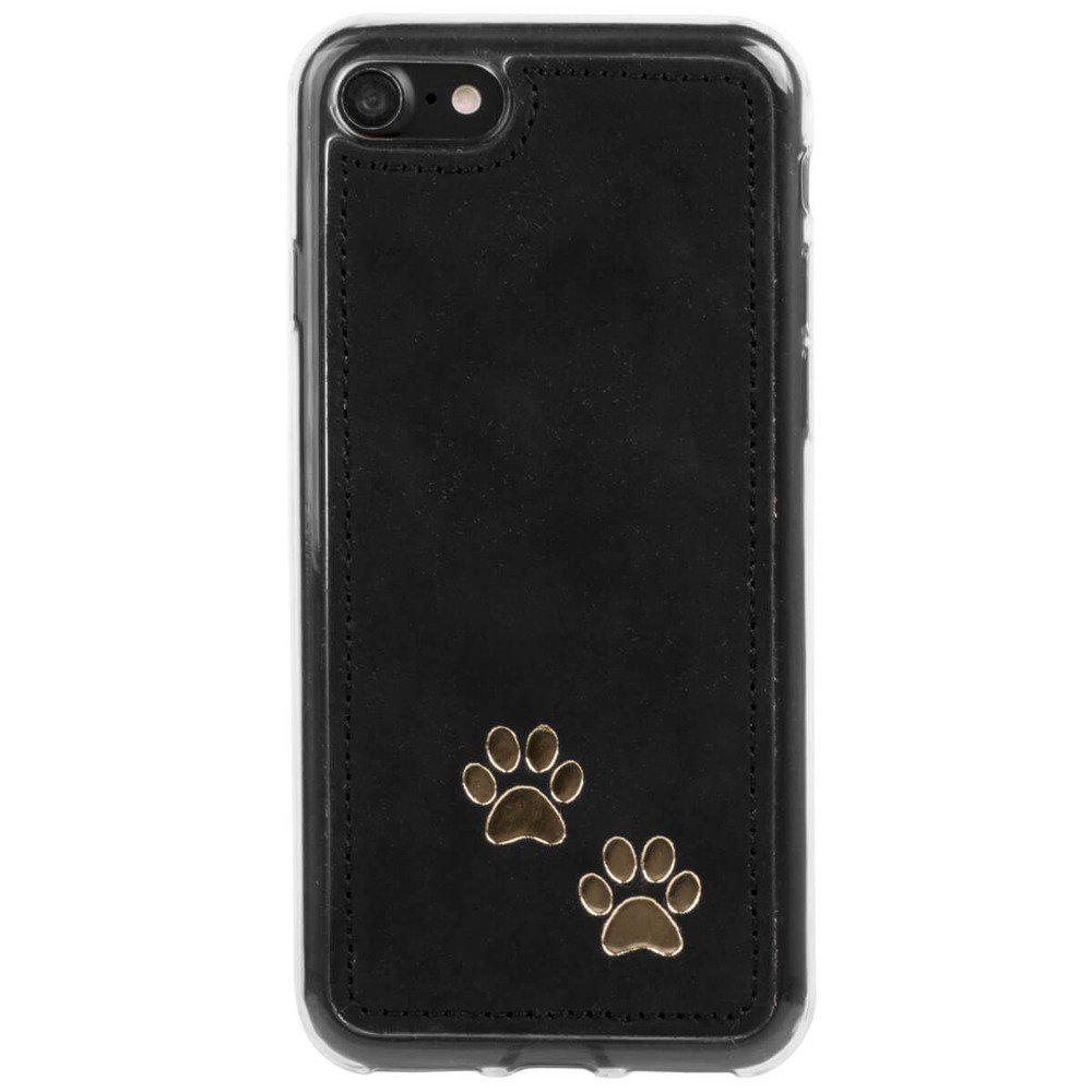 Back case - Nubuck Black - Two paws