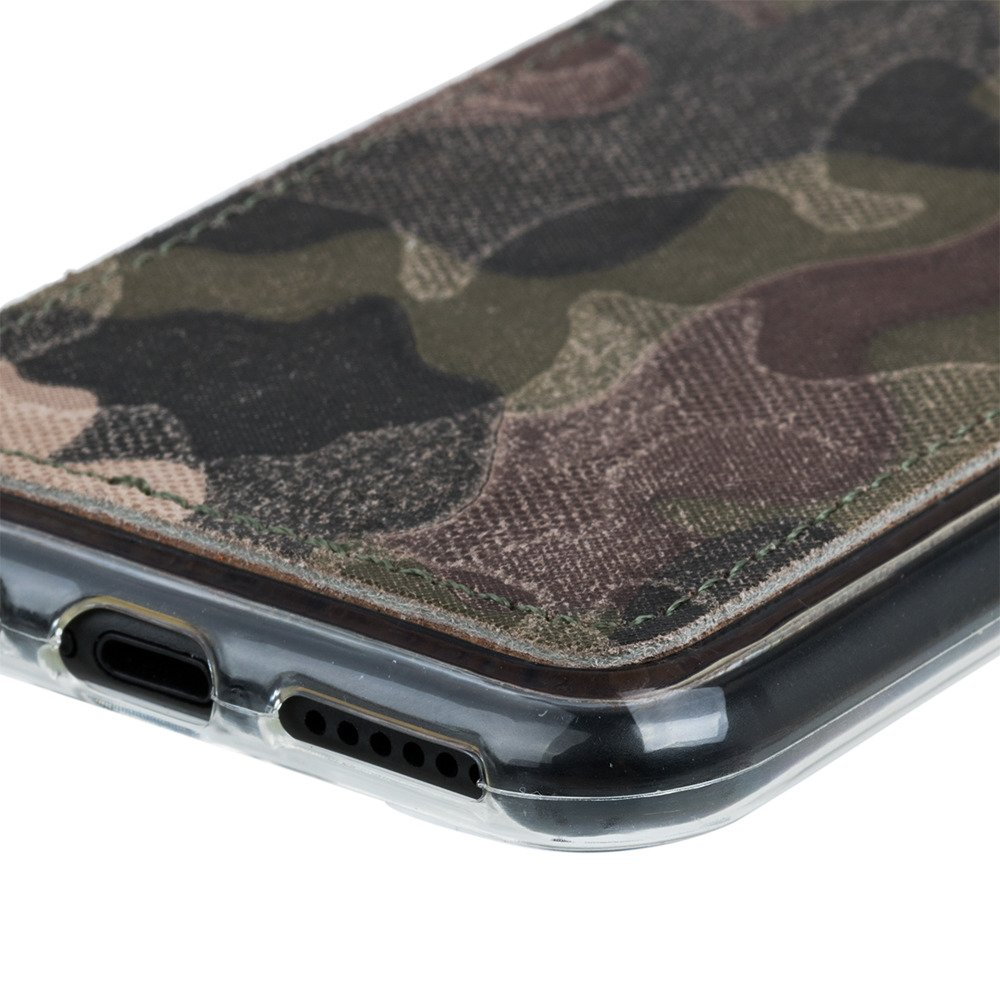 Surazo® Back case phone case Military - Green Camouflage