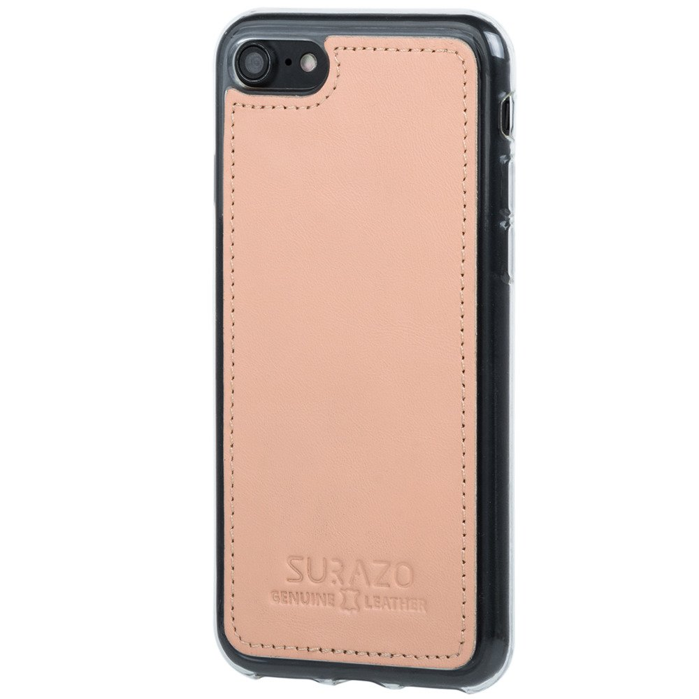 Surazo® Back case phone case Pastel - Peach