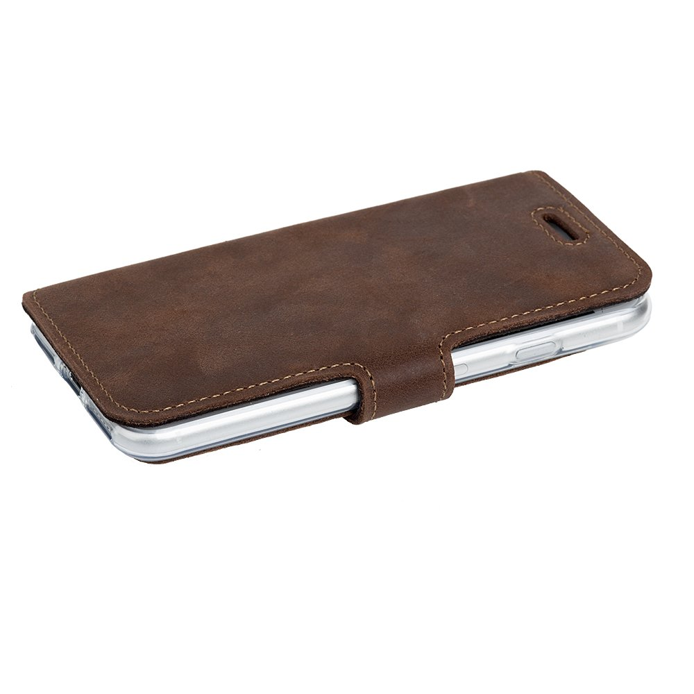Surazo® Slim cover phone case - Nut brown