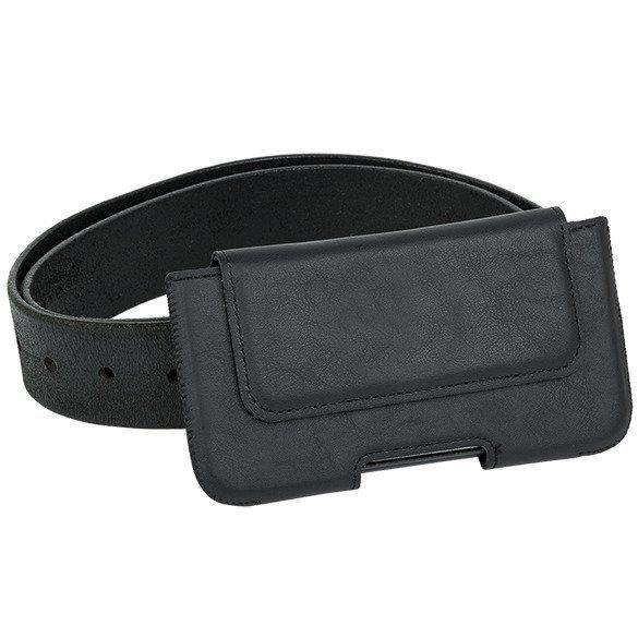 Surazo® Leder Gürtel Hülle Dakota - Schwarz