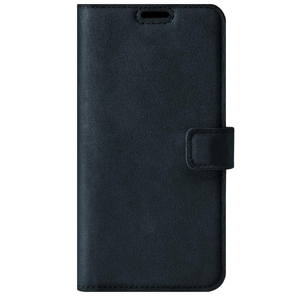 Wallet case - Nubuk Marineblau